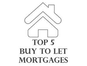 top 5 buy to let mortgages