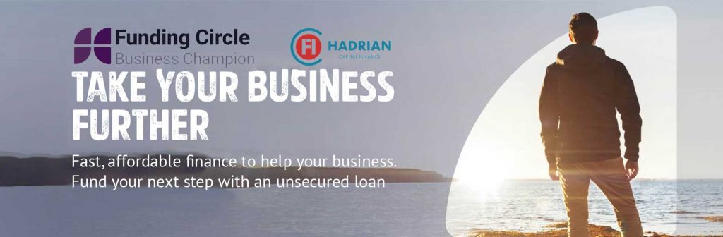 hadrian finance funding circle business champion