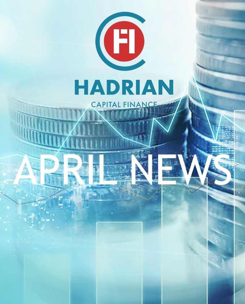 Hadrian April 2019 Finance News